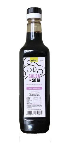salsa de soja x 500 cc arilart