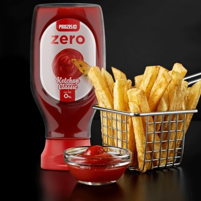 salsa de tomate zero azúcar y zero grasa