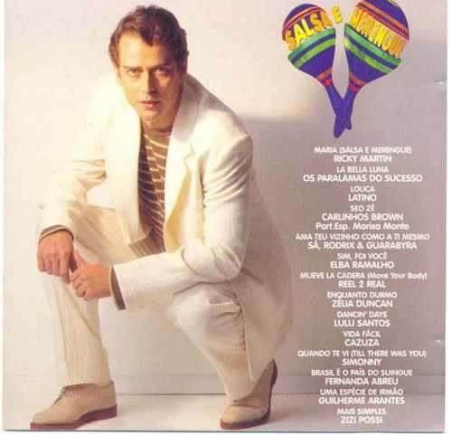 salsa e merengue nacional cd original