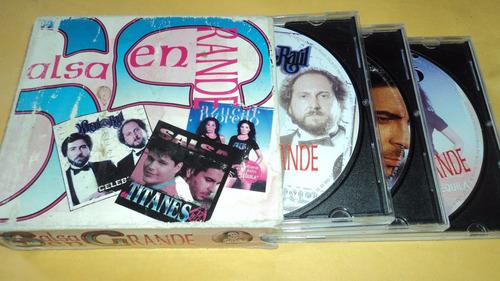 salsa en grande 3 cds varios artistas