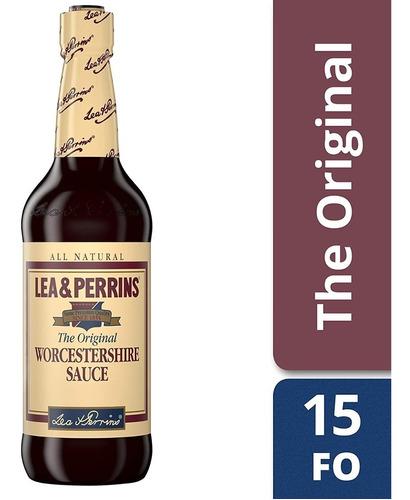 salsa inglesa lea & perrins worcestershire sauce 444ml