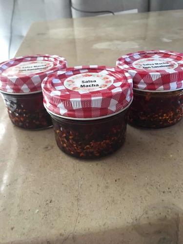 salsa macha casera