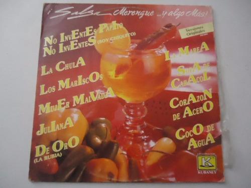 salsa meregnue y algo mas / varios vinyl lp acetato