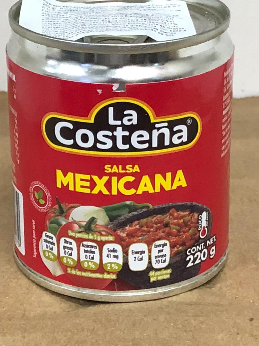 Salsa Mexicana Roja Casera La Costeña La Marca N1 En México -   73 ... 2b139f6a9cc