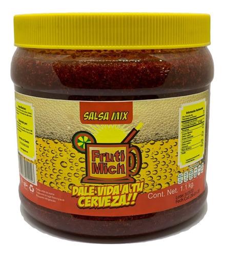 salsa mix, fruti mich para micheladas. pulpa de frutas