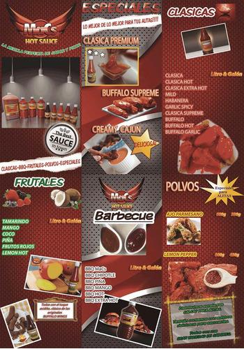 salsa para alitas mango hot