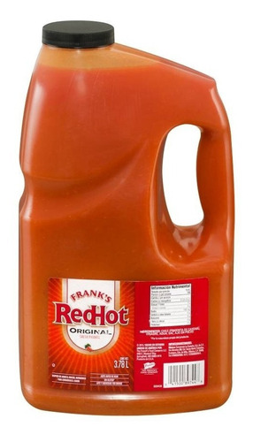 salsa picante frank's red hot para alitas 3.78 litros