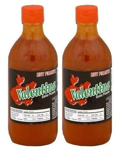 salsa picante valentina black label 12.5 oz