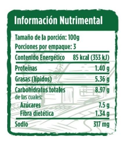 salsa pomodoro con champiñones orgánica campo vivo 300gr