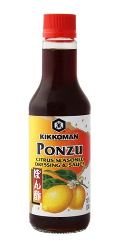 salsa ponzu con cítricos kikkoman 296ml