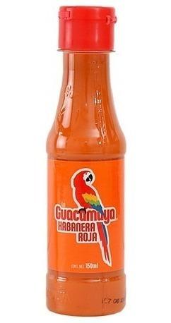 salsa sinaloense guacamaya picante habanera 24 piezas 150ml