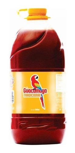 salsa sinaloense la guacamaya tradicional 4 piezas 5 lt