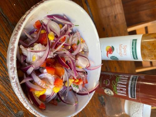 salsa spicy mango para carnes pampagourmet 1x280g