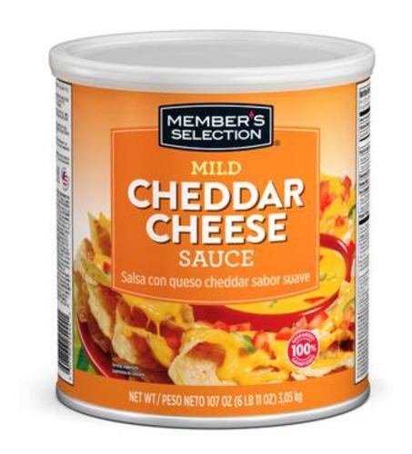 salsa suave queso cheddar 6 libras - g a $23