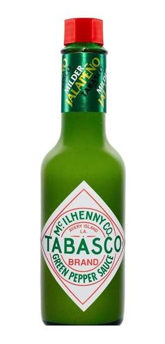 salsa tabasco verde  green pepper  60ml - ml a $200