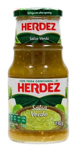 salsa verde herdez frasco 453 gr