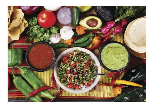 salsas coleccion mexico 1000pz rompecabezas ravensburger