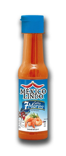 salsas mexicanas: méxico lindo 7 mares ideal mariscos