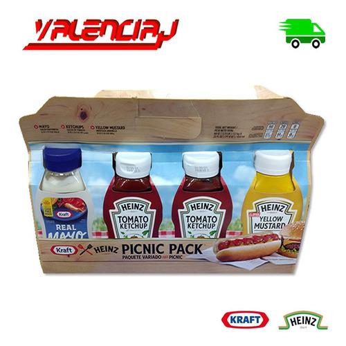 salsas picnic pack x 4 unidades tomat - kg a $30600