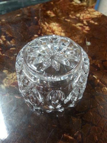 salsera pequeña en cristal italiana