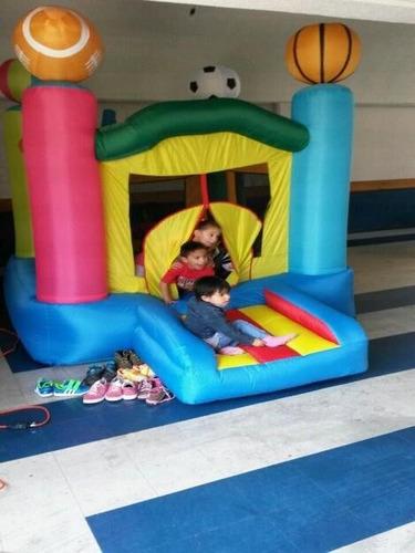 salta-salta para el jardin de lona inflable