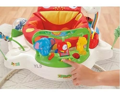 saltarin con música sonidos juegos y luces bebe niña y niño