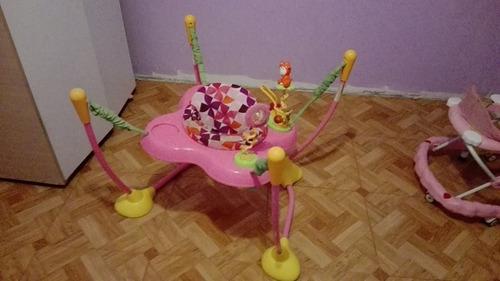 saltarin infanti rosa