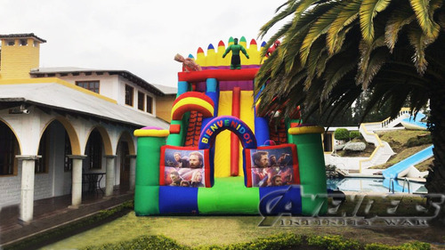saltarin inflable cumpleaños fiesta infantil evento