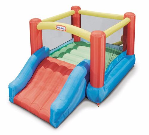 saltarin inflable ,trampolin, little tikes + envio gratis
