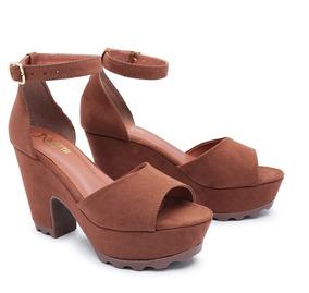38635fc2a7 Sandalia Feminina Salto Alto Delicada - Sandálias e Chinelos Outros Tipos  para Feminino no Mercado Livre Brasil