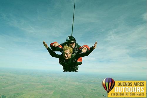 salto en paracaidas -paracaidismo en buenos aires- sky dive