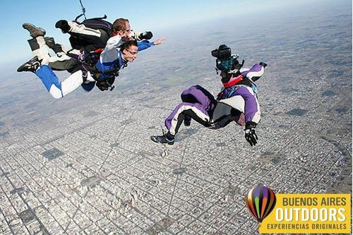 salto paracaidas - paracaidismo buenos aires