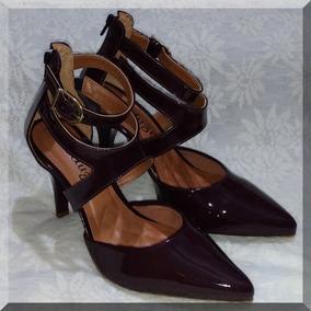 0e4ec5df6e Sapato Scarpin Na Cor Vinho Lindissímo Feminino - Sapatos Violeta ...