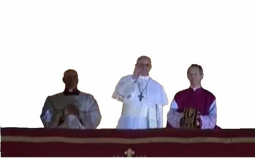 saludo del papa