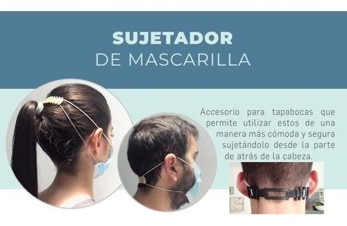 salva orejas o sujetador mascarilla tapaboca  x10 unidades