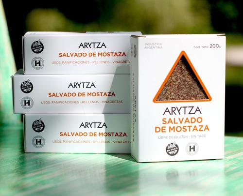 salvado de mostaza arytza ideal para panificados y ensaladas