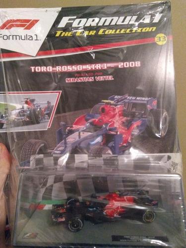 salvat f1 car collection 33 toro rosso str3 (2008) s. vettel