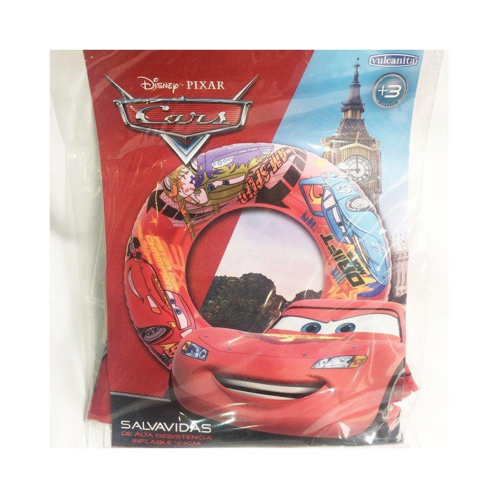 Salvavidas Inflable Redondo Cars Disney Art 6124 Microcentro 100
