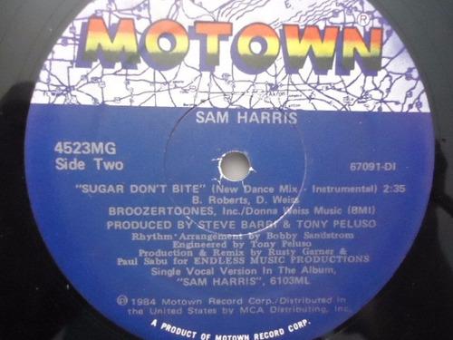 sam harris / sugar don't bite vinyl lp acetato