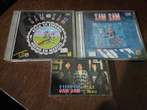 sam sam paquete cds tape
