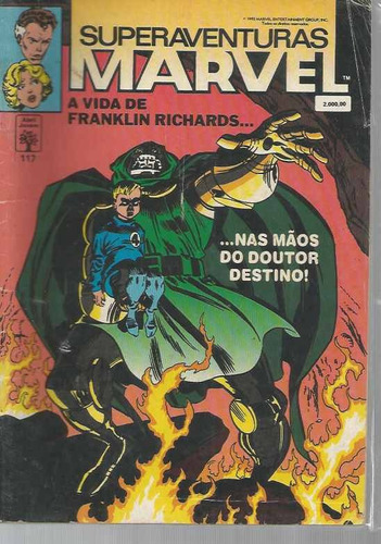 sam superaventuras marvel 117 - abril - bonellihq cx154 b18