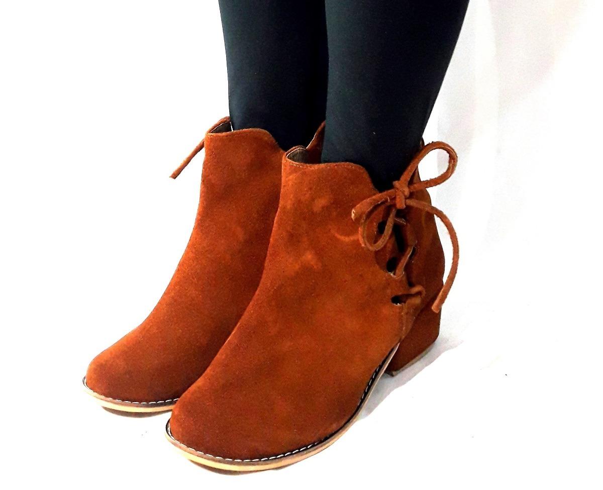3f2e4c1549cd8 sam123 botas bajas talles grandes cuero mujer oxi marron. Cargando zoom.