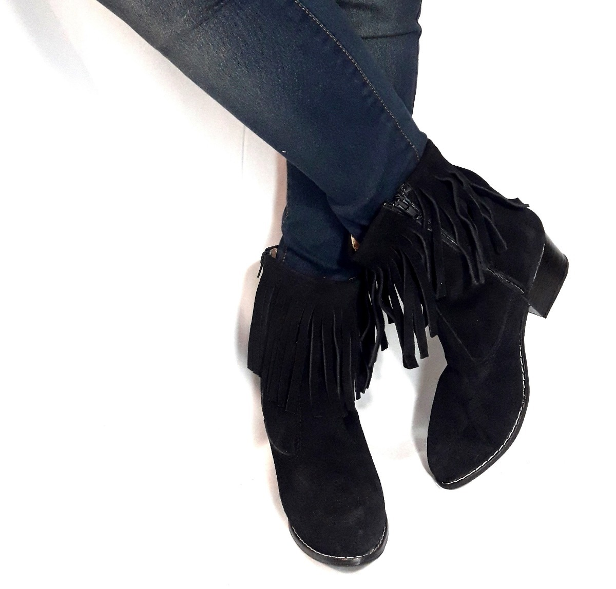 f21c88be38 sam123 botas cortas mujer talle grande cuotas cheroka2 negra. Cargando zoom.