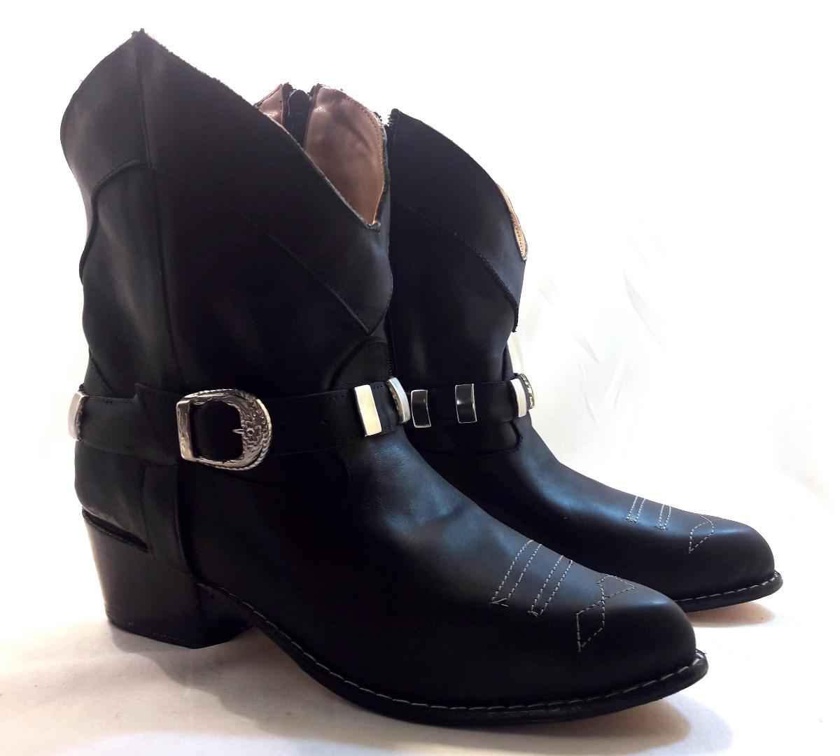 7c4f9065ed sam123 botas cortas mujer talle grande cuotas tex2 negras. Cargando zoom.