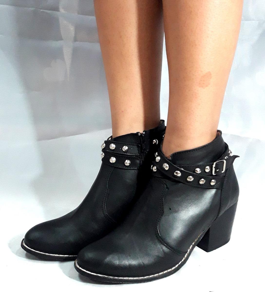 acdd21f989 sam123 botas cortas talles grandes cuero cuotas naty negras. Cargando zoom.