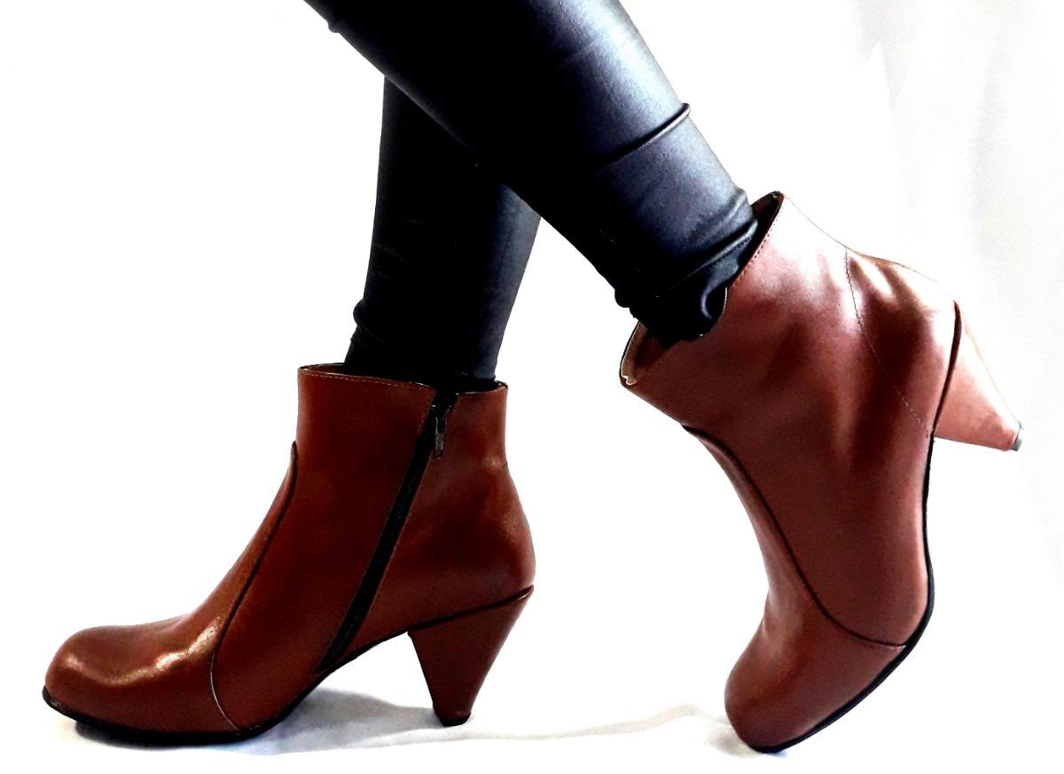 f85f533f8 sam123 botas cortas talles grandes cuero mujer amanda suela. Cargando zoom.