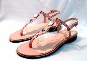 acc819cd6c8 Sandalias Bajas Mujer - Sandalias de Mujer Piel en Mercado Libre ...
