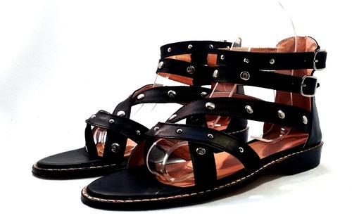 sam123 sandalias bajas cuero talles grandes cuotas 044 n