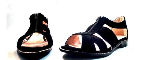 sam123 sandalias bajas cuero talles grandes cuotas cierres
