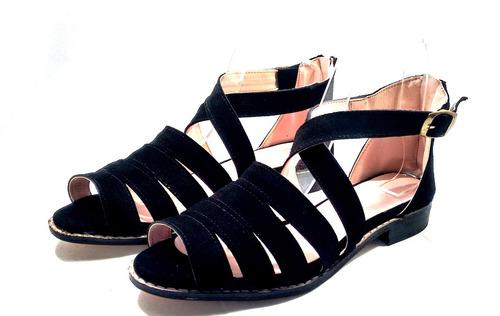 sam123 sandalias bajas cuero talles grandes cuotas sofia